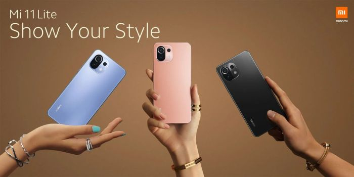 Xiaomi Mi 11 Lite Farben