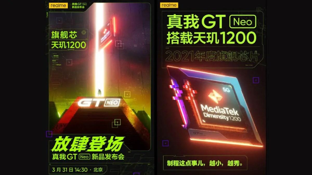 Realme GT Neo Launch Invite