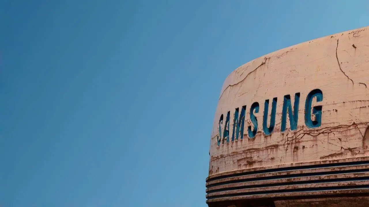 Samsung logo vintage