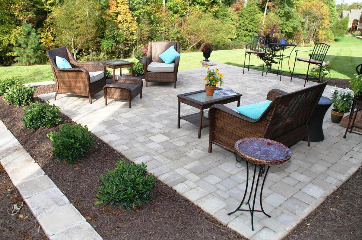 Concrete Paver Patio Ideas : Schmidt Gallery Design - Most ... on Backyard Pavers And Grass Ideas id=15305