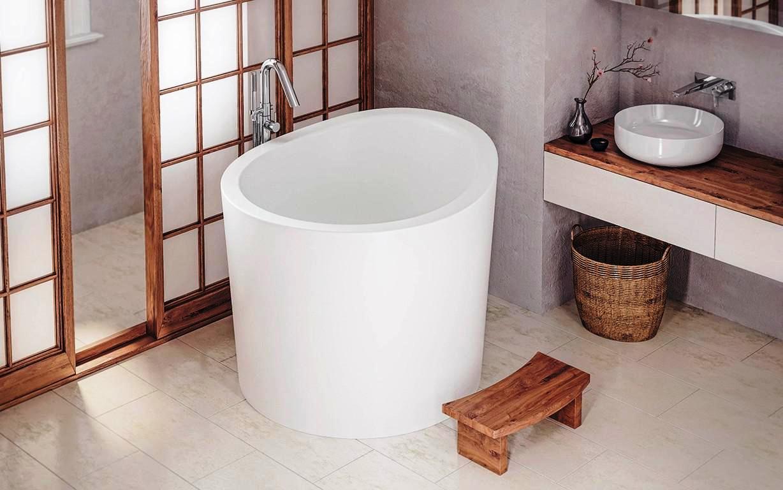 Extra Deep Soaking Tub Shower Combo Schmidt Gallery Design