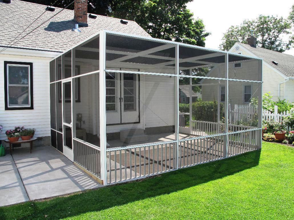 Patio Enclosures DIY : Schmidt Gallery Design - The ... on Backyard Patio Enclosure Ideas  id=44883