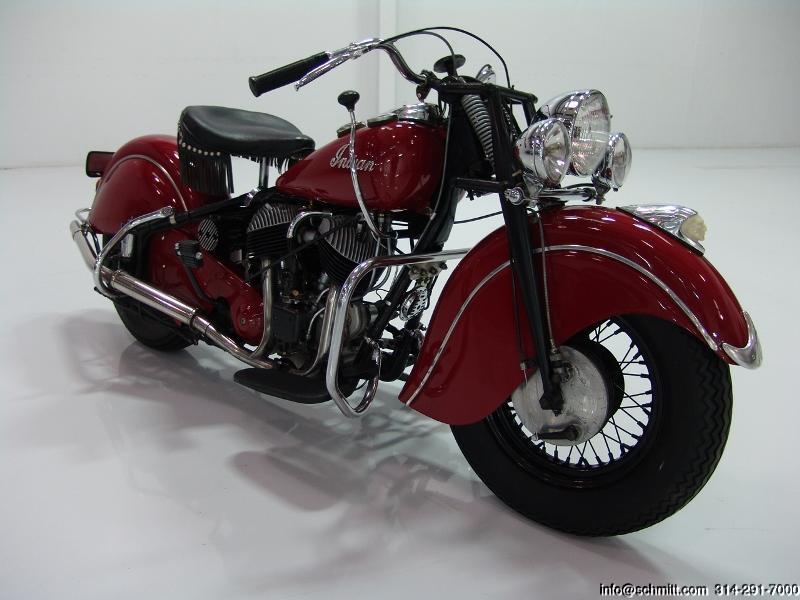 1948 Indian Chief 348 Motorcycle Daniel Schmitt Amp Co Classic Car Gallery