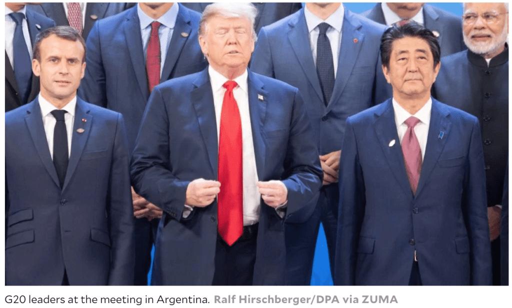 G20Summit-Trump-Ralf Hirschberger:DPA via ZUMA