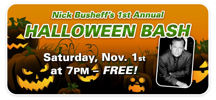 Halloween Bash with Nick Busheff
