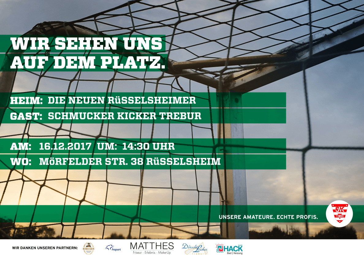 Pokal Viertelfinale terminiert – Rüsselsheim auswärts