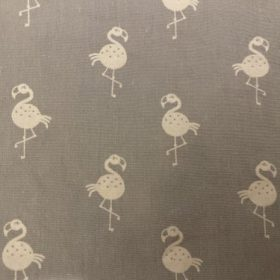 Flamingos Grau