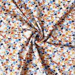 Jersey Mosaik 95% Baumwolle 5% Elasthan