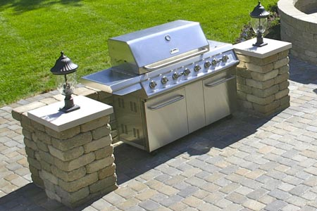 Hardscape Accessories for Your Patio Design | Schneider's ... on Patio Grill Station id=74658