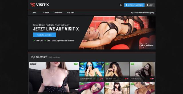 Visit-X Sexcam Seite