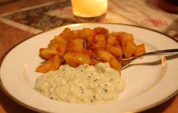 Bombay-Kartoffeln – indisch vegetarisch kochen nach Jamie Oliver