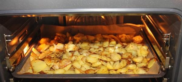 Bratkartoffeln im Zwischenlager: der Ofen!