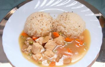 Hühnerfrikassee – Rezept für gesprengtes Huhn