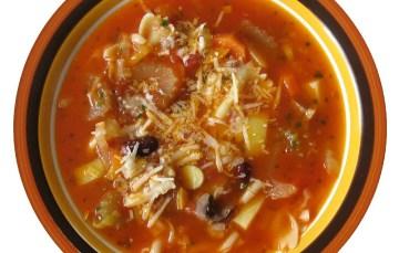 Minestrone – Rezept für italienische Gemüsesuppe