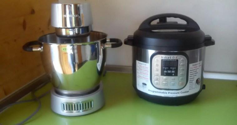 Perfekte Küchen-Allianz: Kenwood-Küchenmaschine und Instant Pot elektrischer Schnellkochtopf