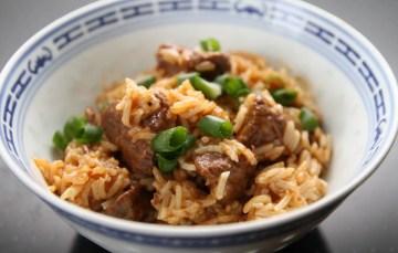 Reisfleisch im Instant Pot