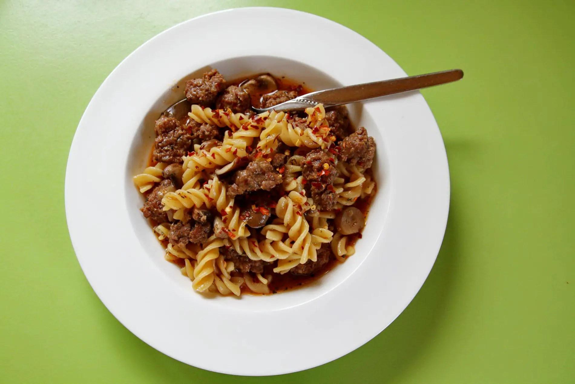 "One Pot Pasta ""Fauler Koch"" im Instant Pot"