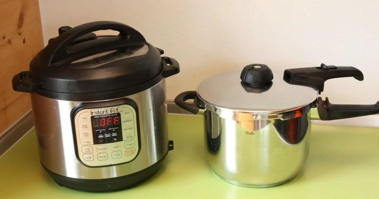 In meiner Küche: Fissler Schnellkochtopf und Instant Pot