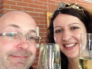 Selfie Weinprinzessin