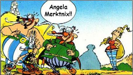 Der Wunderbare Comic Asterix Und Der Kampf Ums Kanzleramt Kann Hier Heruntergeladen Werden