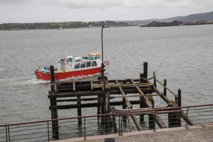 Der Heartbreak Pier oder was davon übrig ist.