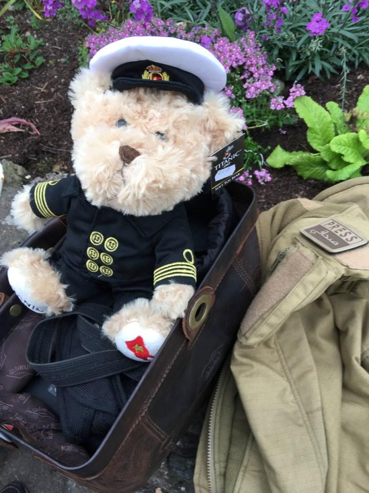Unser Officer Boxhall auf meiner Fototasche