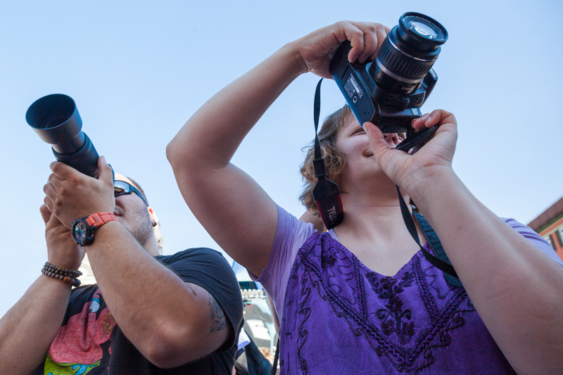 Workshop Grundlagen Fotografie auf der Venezianischen Messe in Ludwigsburg. Irgendwo gibts immer tolle Motive.