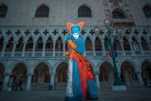 Der Dogenpalast beim Morgenshooting mit Zauberhafte Maskerade