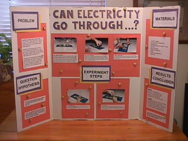 Examples Of Poster Board Ideas : Science fair mr weinfeld s class