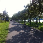 Radweg am Kulkwitzer See