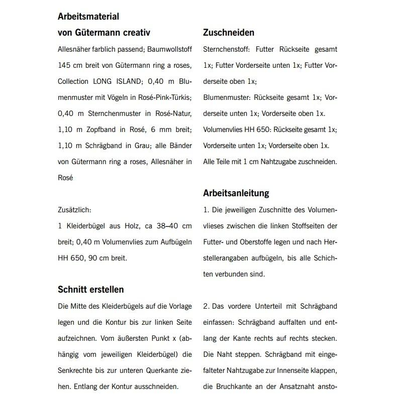 DIY Wäscheklammerbeutel - SCHÖNER LEBEN JOURNAL