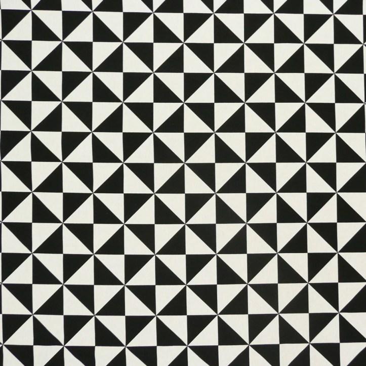 31791-Baumwollstoff-Stoff-Dekostoff-Zacken-Dreiecke