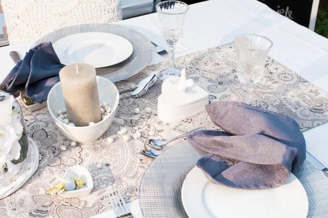 Hochzeits tafel