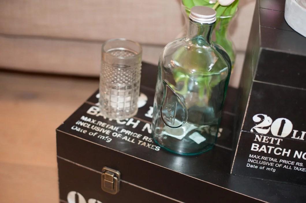 Detailaufnahme Vase