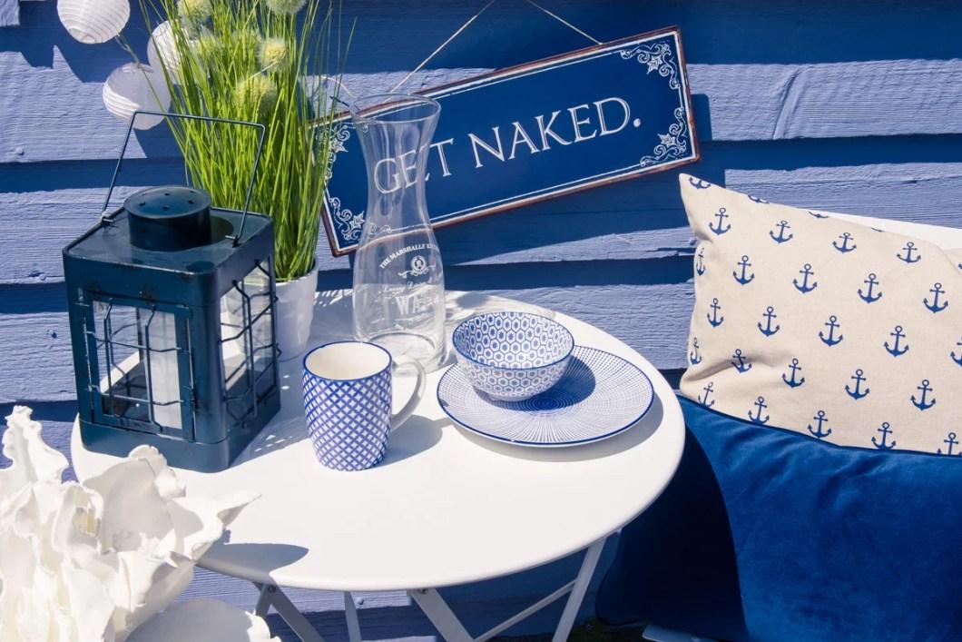 Trendwelt Blaue Terrasse
