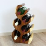 Weinstander Holz Flaschenstander Flaschenhalter Das Perfekte Weinregal