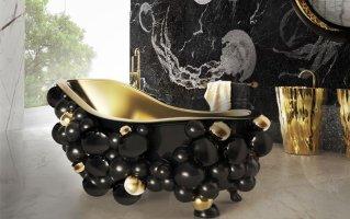 Luxus Badezimmer 10 inspirative Ideen für ein Bad in Gold