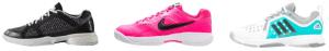 Tennisschoenen maatvoering