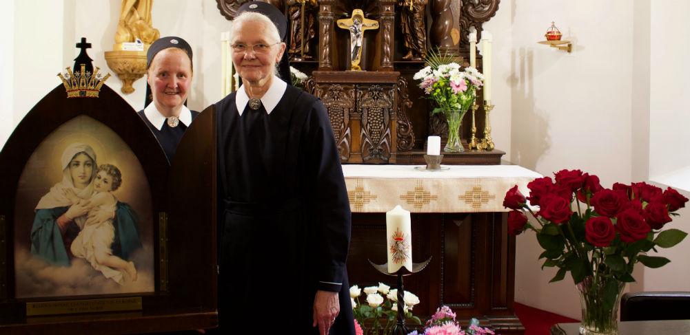 Sisters in Schoenstatt Scotland Shrine
