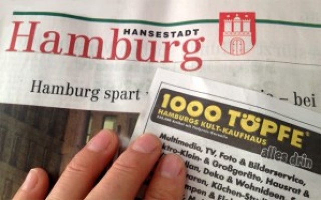 Hamburgs Kult-Kaufhaus 1000 Töpfe schließt