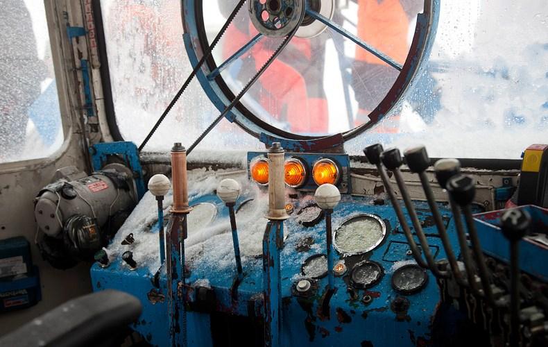 Im Cockpit eines Wallacks