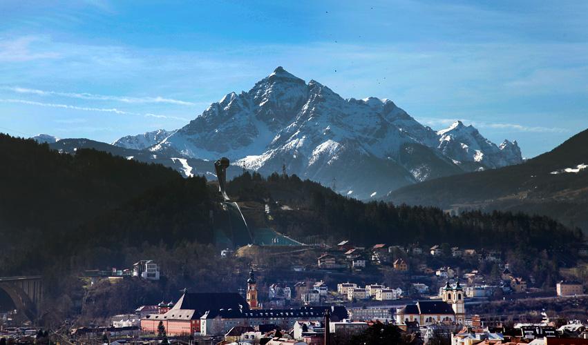 Innsbruck – Blick zur Skischanze