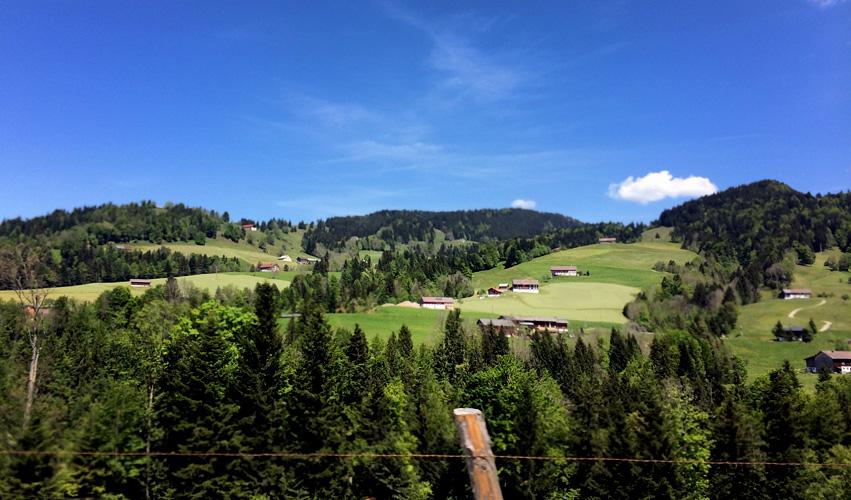 Umgebung von Hittisau - Bregenzerwald