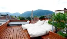 Imperial Art Hotel Meran - Dachgarten mit Whirlpool