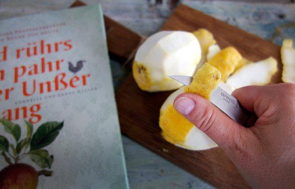Zitronen und Kochbuch