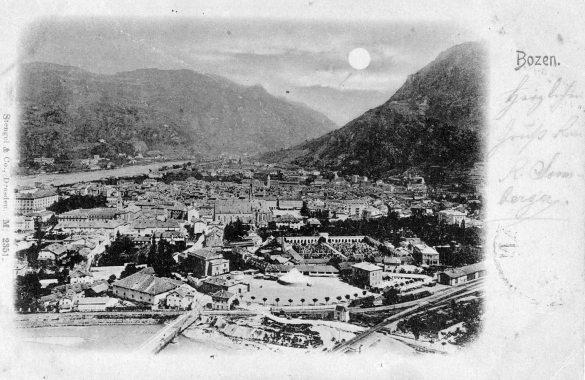 Postkarte Bozen - Bolzano | Südtirol