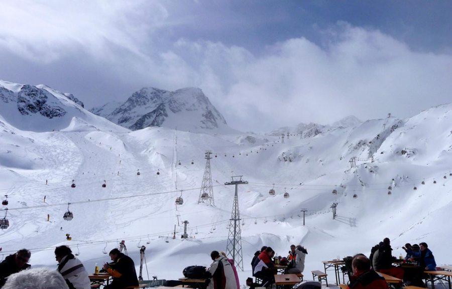 Skitag Stubaier Gletscher