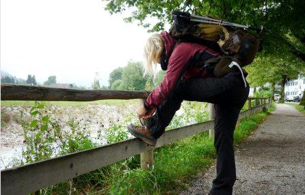 Auf dem Weg zur Partnachklamm und zur Zugspitze