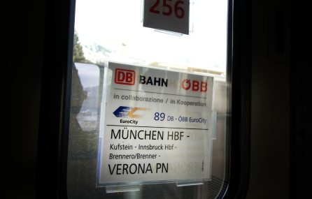 Zug - München Brenner Verona