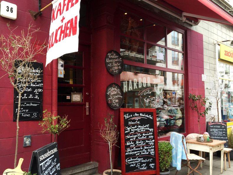 Harbor Cake Hamburg Straßenansicht